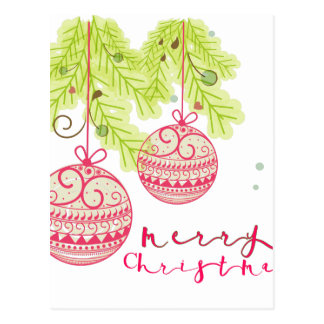 Cartão Postal Chirtsmas 5