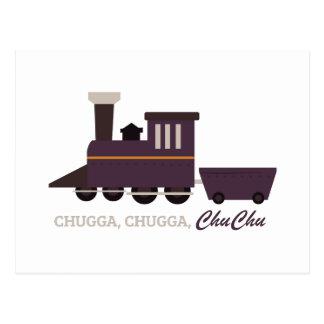 Cartão Postal Chuga Chu Chu