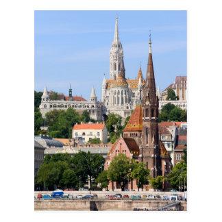 Cartão Postal Cidade de Budapest em Hungria