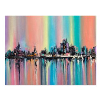 Cartão Postal Cidade do arco-íris