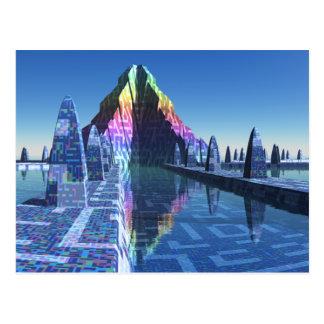 Cartão Postal Cidade do Scifi