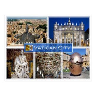 Cartão Postal Cidade do Vaticano do VA -