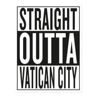 Cartão Postal Cidade do Vaticano reta do outta