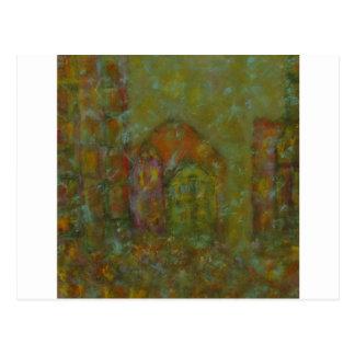 Cartão Postal Cidade e cor