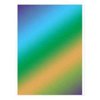 Cartão Postal Círculos nos quadrados: Teste padrão cheia de vida