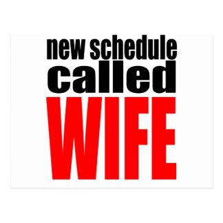 Cartão Postal citações da realidade do newlywed da programação