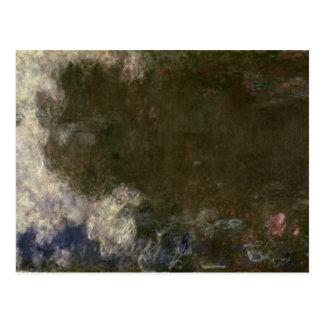 Cartão Postal Claude Monet   o Waterlilies as nuvens, 1914-18