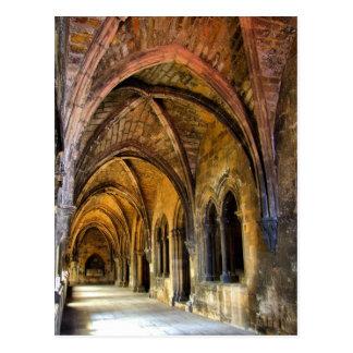 Cartão Postal Claustro gótico da catedral de Lisboa