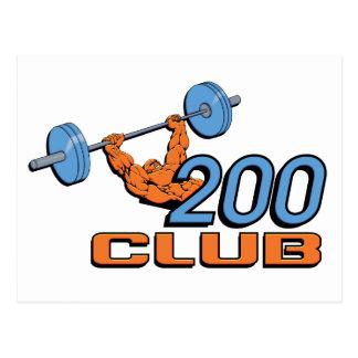 Cartão Postal Clube 200