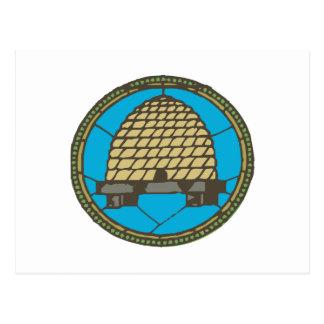 Cartão Postal Colmeia do Freemason