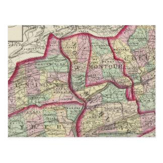 Cartão Postal Colômbia, união, Snyder, Montour