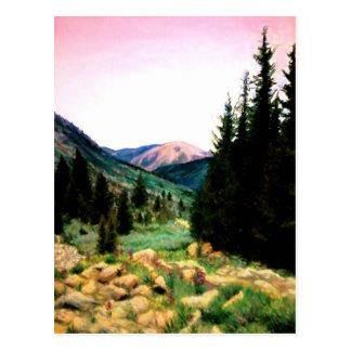 Cartão Postal Colorado de exploração