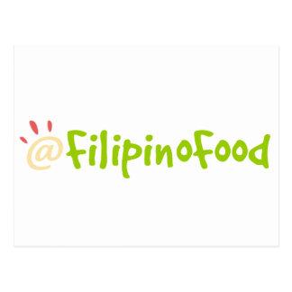 Cartão Postal Comida filipina