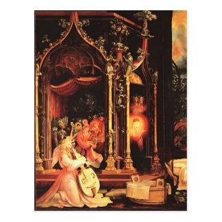 Cartão Postal Concerto de Matthias Grünewald- dos anjos