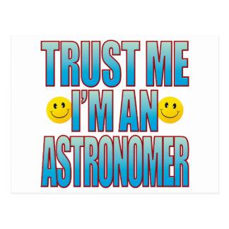 Cartão Postal Confie-me a vida B do astrónomo
