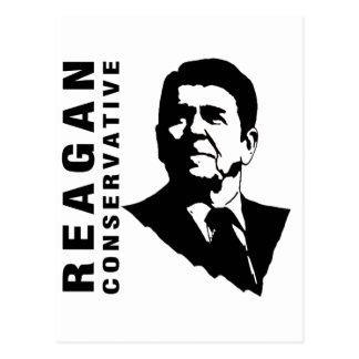 Cartão Postal Conservador de Reagan