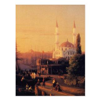 Cartão Postal Constantinople por Ivan Aivazovsky
