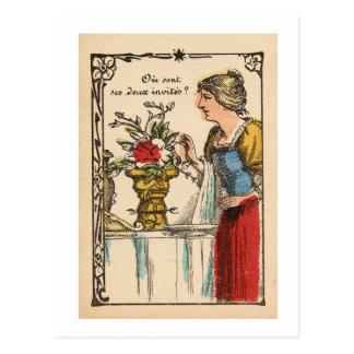 Cartão Postal Copa de Rubin II/vaso II de Rubin´s