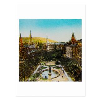 Cartão Postal Corrediça de lanterna mágica de vidro MONTREAL