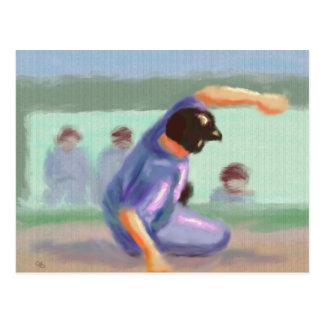 Cartão Postal Corrediça do basebol