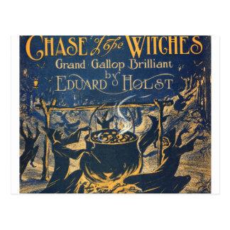Cartão Postal coven das bruxas