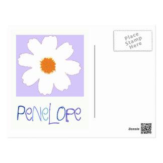 Cartão Postal cozimento com Penélope