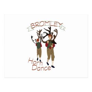 Cartão Postal Dança do chifre de Bromley