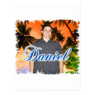 Cartão Postal Daniel