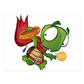 Cartão Postal Daniel a tartaruga
