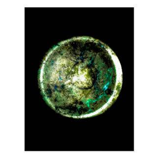"""Cartão Postal De """"cartão da arte de JTG Alumino Luna"""""""