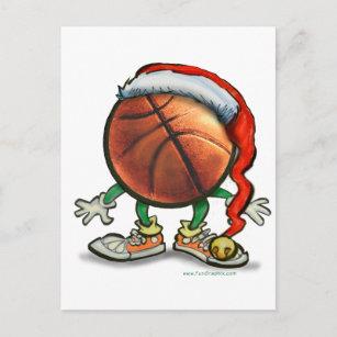 Cartão Postal De Festividades Natal do basquetebol fe9c34583d568
