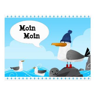 """Cartão Postal De """"gaivota Moin Moin"""""""