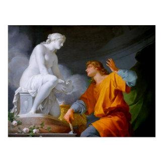 Cartão Postal ~ de Pygmalión (mitologia grega - Galathea)