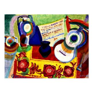 Cartão Postal Delaunay - do português vida ainda