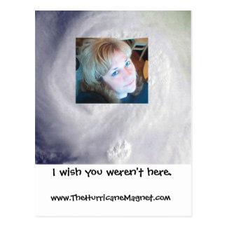 Cartão Postal Desejo você não estava aqui