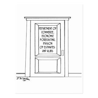Cartão Postal Desenhos animados 3781 da economia