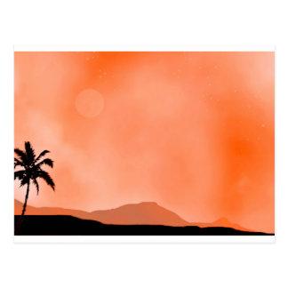 Cartão Postal Deserto