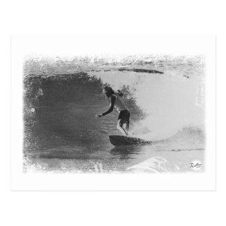 Cartão Postal desgaste retro do surf