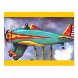 Cartão Postal Detalhe preguiçoso do plano do pássaro