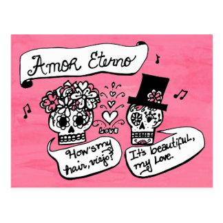 Cartão Postal Diâmetro de los Muertos, Amor Eterno