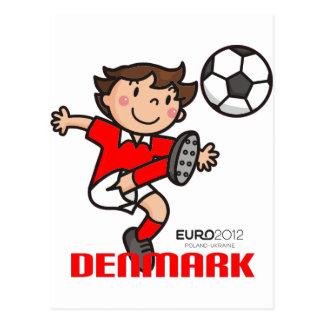 Cartão Postal Dinamarca - euro- 2012