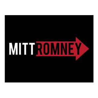 Cartão Postal Direito de Mitt Romney