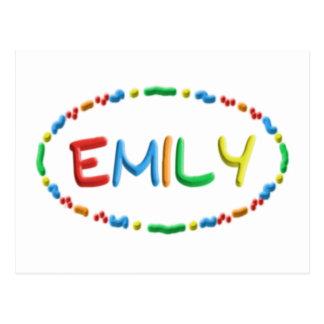 Cartão Postal Divertimento da massa de Emily