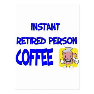 Cartão Postal Dizer engraçado da aposentadoria