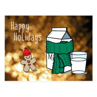 """Cartão Postal Do """"cartão engraçado do ouro leite & do gengibre"""""""