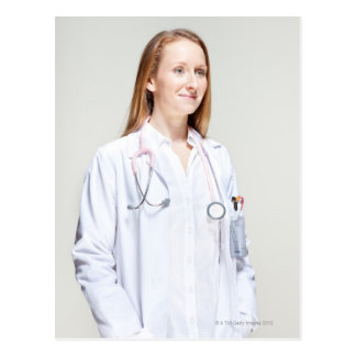 Cartão Postal Doutor fêmea