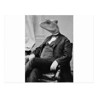 Cartão Postal Dr. Lizard