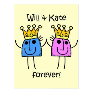 Cartão Postal E Kate