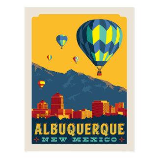 Cartão Postal Economias de Albuquerque, New mexico | a data