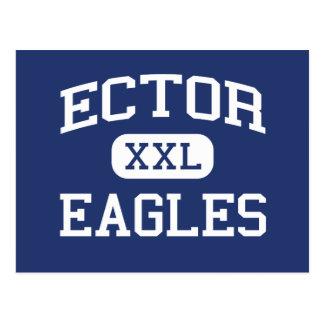 Cartão Postal Ector - Eagles - escola secundária - Odessa Texas